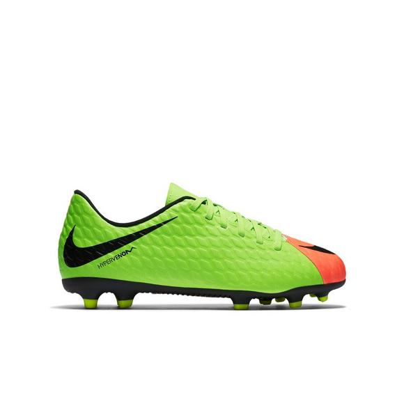 d00f37f8655 Nike Hypervenom Phade III FG Kids Soccer Cleats - Main Container Image 1