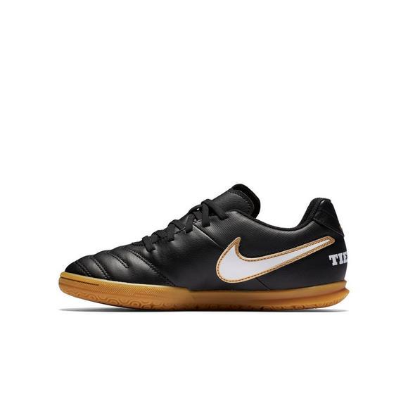 Nike Tiempo Rio III Preschool Kids Indoor Soccer Shoe - Main Container  Image 2 3bde46c5d
