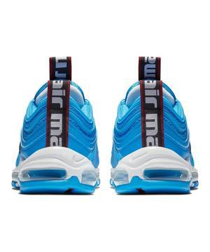 Nike Air Max 97 Premium Blue Hero White Black Men S Shoe