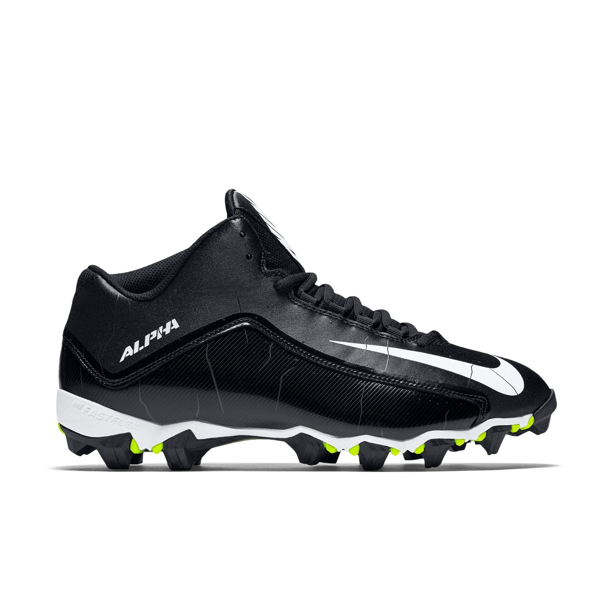 Nike Alpha Shark 2 Wide 3/4 Men\u0027s Football Cleats - Main Container Image 1