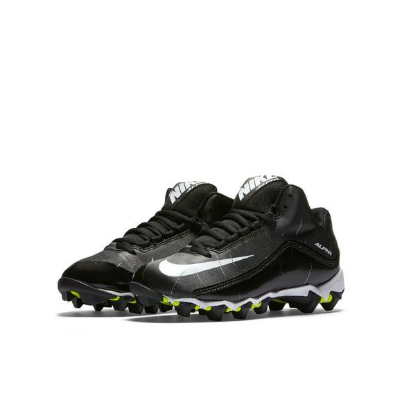 6614f98ed Nike Alpha Shark 2 Mid Grade School Kids  Football Cleats - Main Container  Image 8