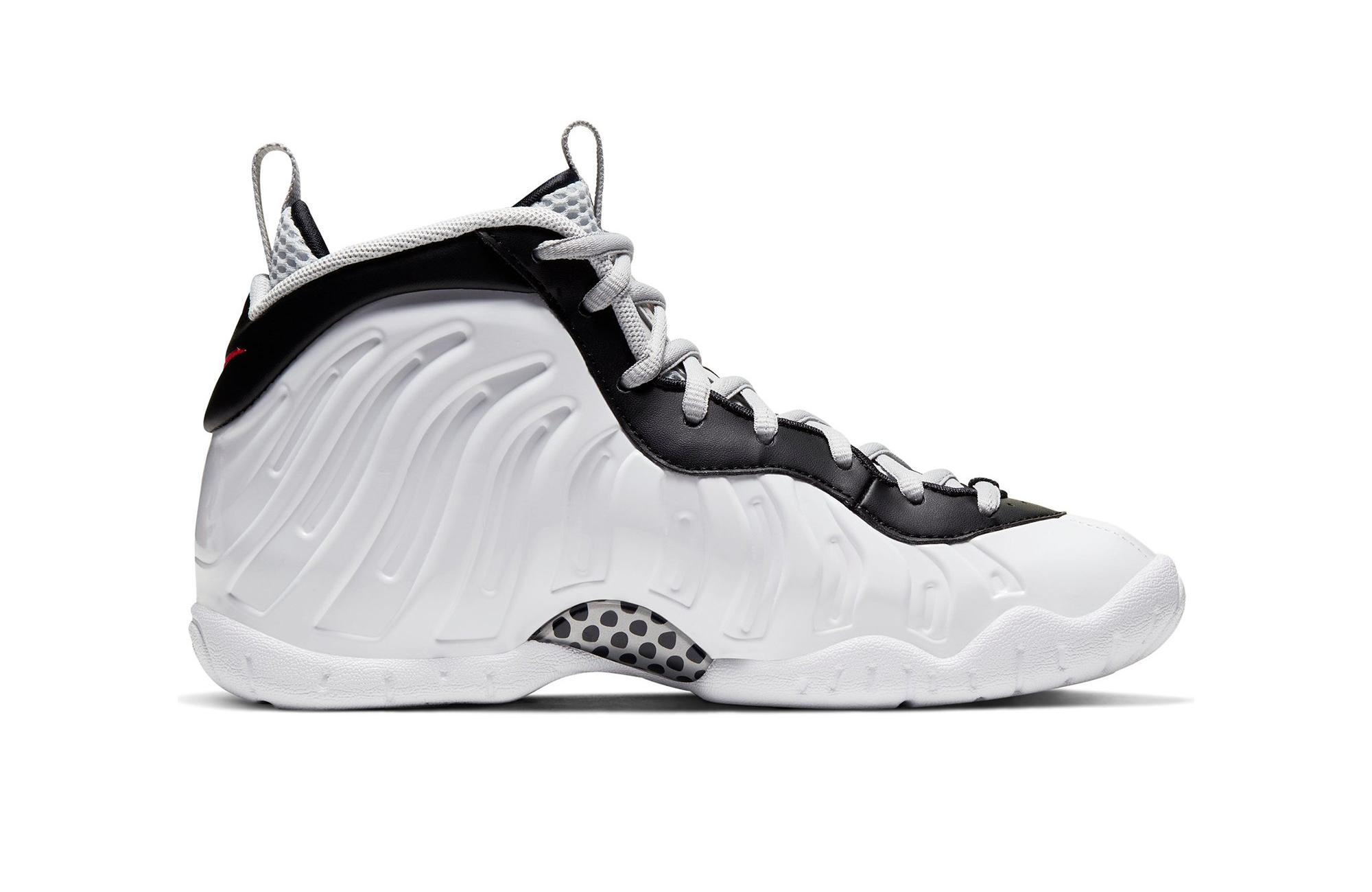 "Nike Air Foamposite and Little Posite Pro ""White/Black/University Red"" right"