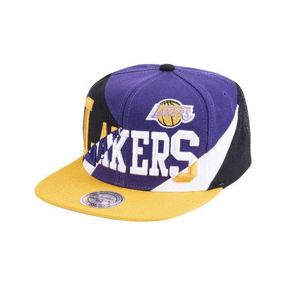 Mitchell & Ness Los Angeles Lakers Hardwood Classic Multiply Snapback Hat