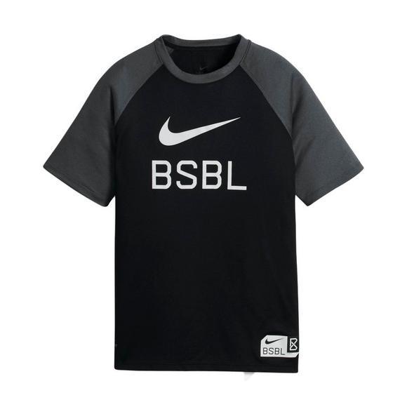 22a40639 Nike Boys' Baseball LogoDry T-Shirt - Main Container Image 1