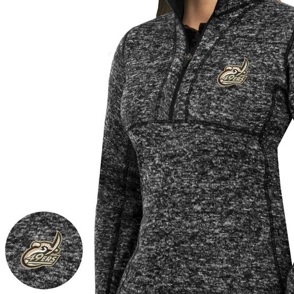 check out 49c9e 38f20 Antigua Women's Charlotte 49ers Fortune Half-Zip Pullover Jacket