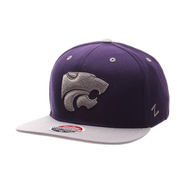 outlet store 574b0 d1ae4 ... spain zephyr kansas state wildcats z11 snapback hat main container  image 1 e86b3 d0ea7