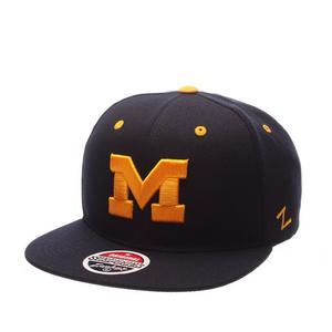 950c77f68a0 ... Zephyr Michigan Wolverines Z11 Snapback Hat - NAVY. No rating value  (0)
