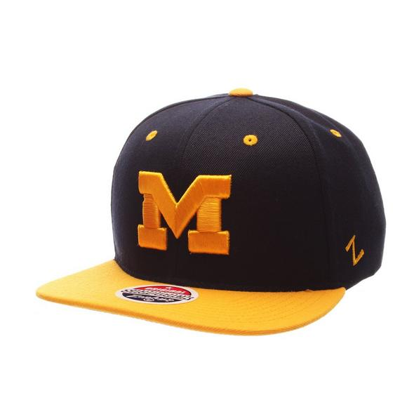 new arrival 268fe 0e110 Zephyr Michigan Wolverines Z11 Snapback Hat - Main Container Image 1