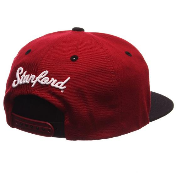 best website 7e890 fa5e9 Zephyr Stanford Cardinal Z11 Snapback Hat - Main Container Image 2