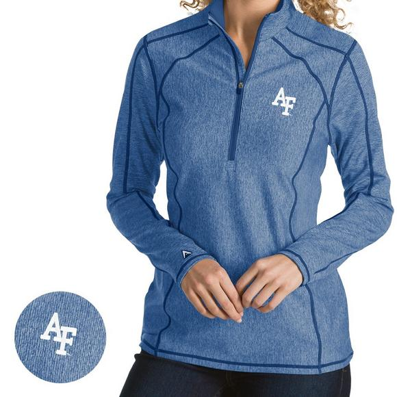 Antigua Women s Air Force Falcons Tempo Pullover Jacket - Main Container  Image 1 27fe8ee569