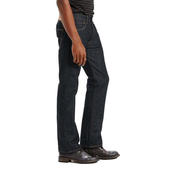 690d40ff45c8 Levi's Men's 501 Original Fit Dark Denim Jeans - Main Container ...
