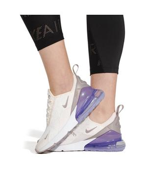 Nike Air Max 270 Sail Space Purple Women S Shoe Hibbett City