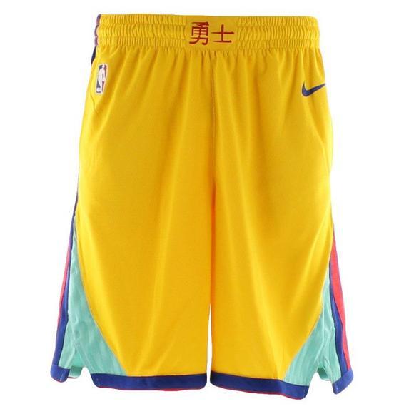 low cost super cheap vast selection Nike MEn's Golden State Warriors Swingman Short
