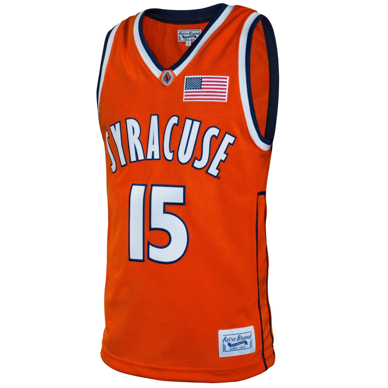 Retro Brands Men S C Anthony Syracuse Orange Ncaa Basketball Jersey Hibbett City Gear