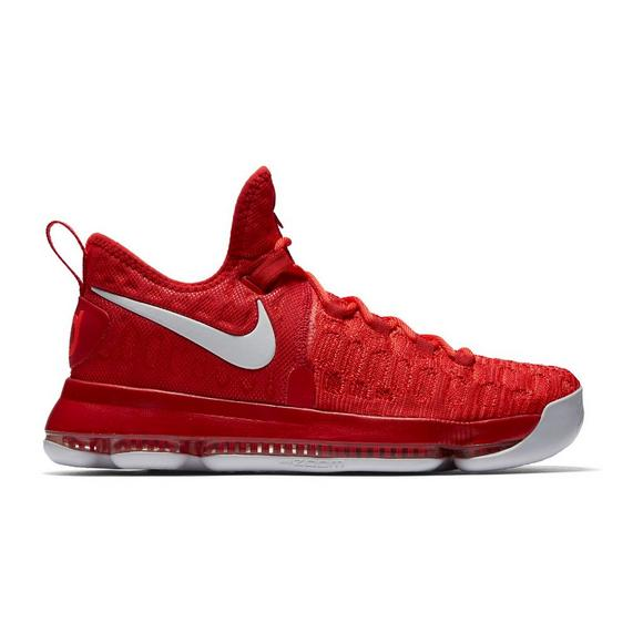 reputable site 20ce0 e61a2 Nike KD 9 University Red Men s Basketball Shoe - Main Container Image 1
