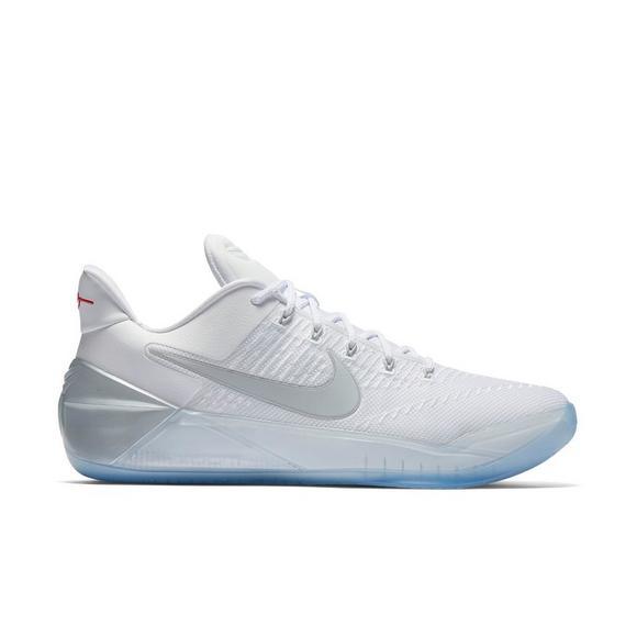 online store f3caf a40c5 Nike Kobe AD Triple White Men's Basketball Shoe - Hibbett US
