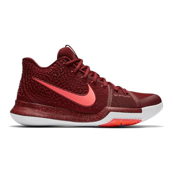 newest 0fe34 5d9f0 Nike Kyrie 3 Team Red Men's Basketball Shoe - Main Container Image 1