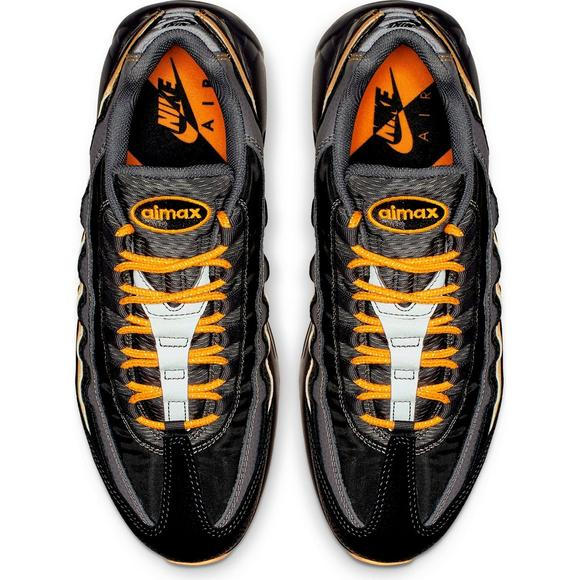 Nike Air Max 95 I 95 PACK OIL GREY LASER ORANGE BLACK YELLOW BV6064 001 Men's   eBay