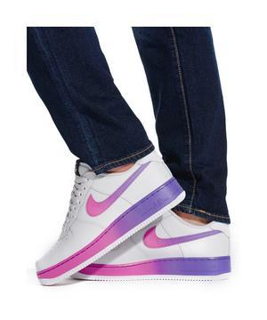 Nike Air Force 1 07 Lv8 Vast Grey Hyper Grape Men S Shoe Hibbett City Gear