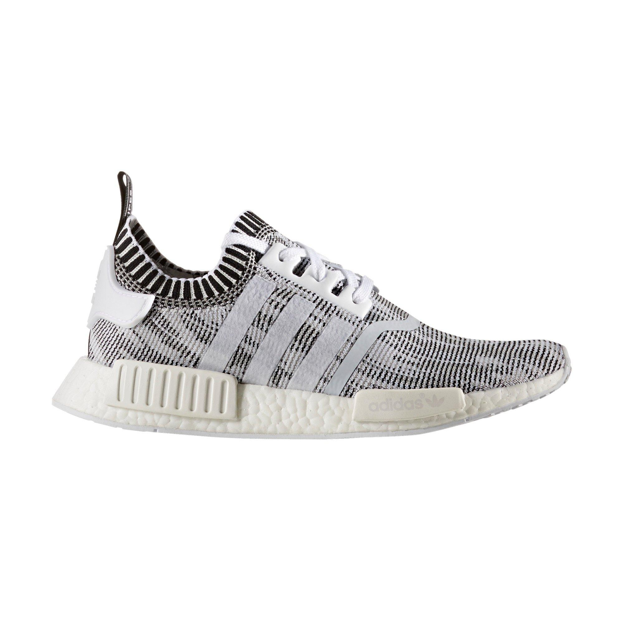 nmd black and white