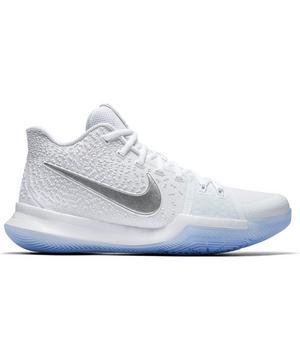 Nike Kyrie 3 White/Chrome Men's Basketball Shoe