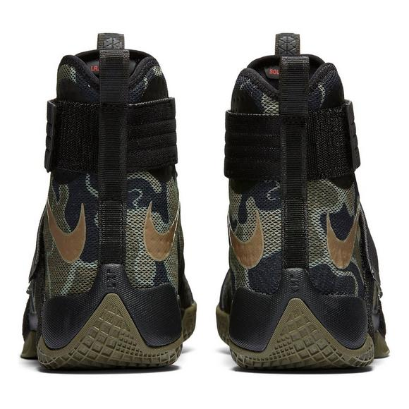 brand new b75b7 24d0b Nike LeBron Soldier 10 Camo Men s Basketball Shoe - Main Container Image 4