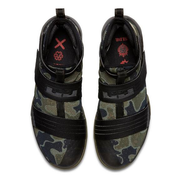 e711dbea8ede Nike LeBron Soldier 10 Camo Men s Basketball Shoe - Main Container Image 2