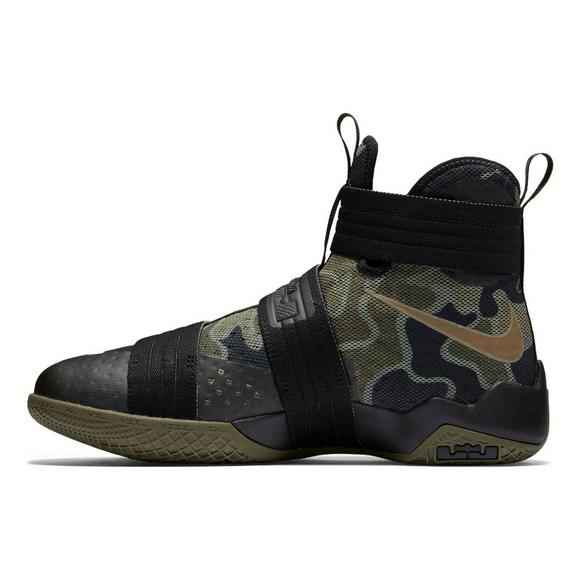 a7773b458c2fe Nike LeBron Soldier 10 Camo Men's Basketball Shoe - Main Container Image 3