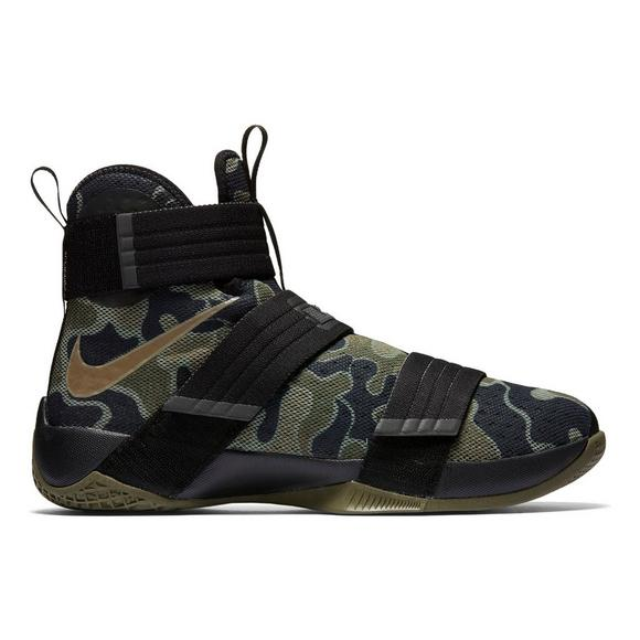 cd75a16985193 Nike LeBron Soldier 10 Camo Men's Basketball Shoe - Main Container Image 1