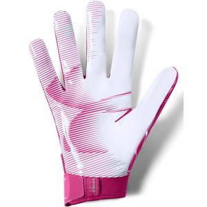 44e062853a2 Under Armour Men s F6 Pink Football Gloves