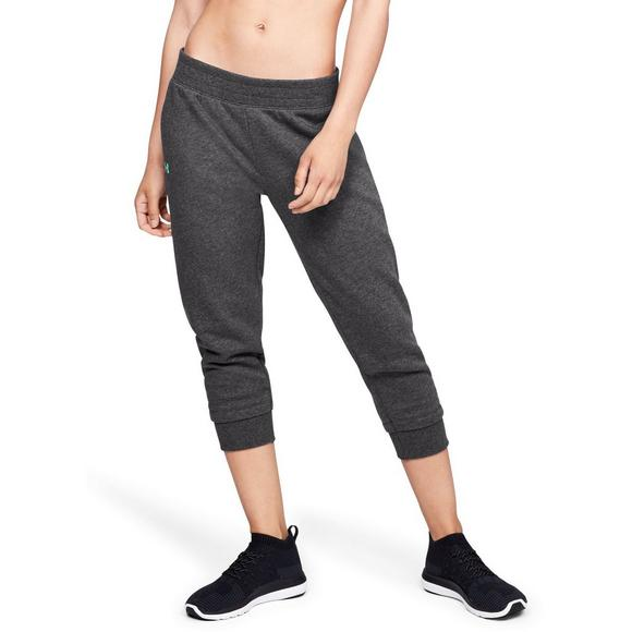 6442c812a5 Under Armour Women's Rival Fleece Crop Pants - Hibbett US