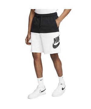 Nike Sportswear Alumni Men's Shorts-Black/White