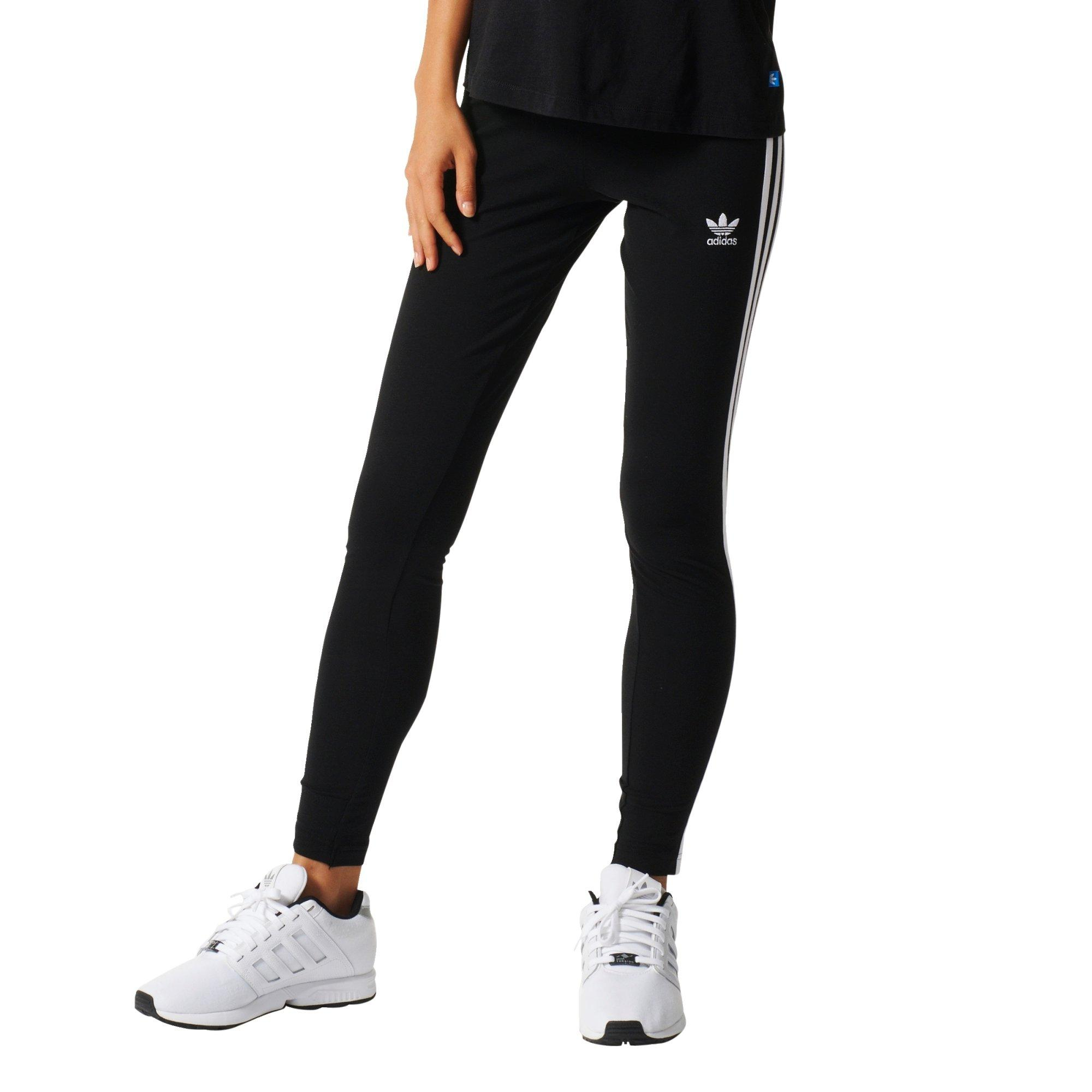 periódico pasatiempo Mula  adidas Originals Women's 3-Stripes Leggings - Hibbett | City Gear