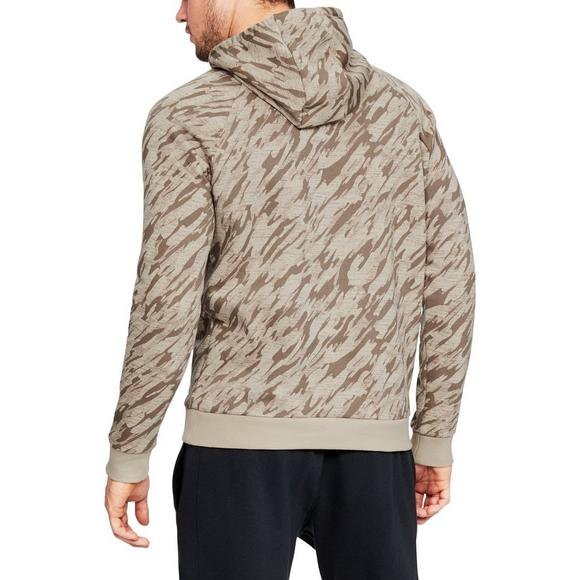 48f826422930f Under Armour Men's Rival Fleece Camo Hoodie - Main Container Image 2