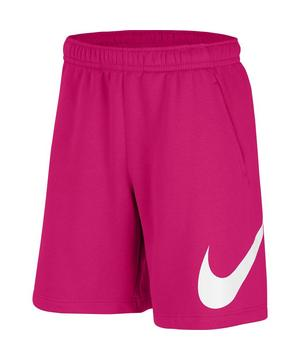 Nike Sportswear Club Men's Graphic Shorts-Pink