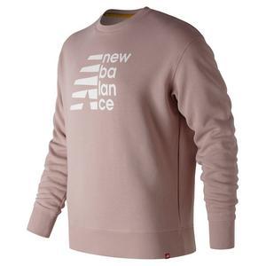 6179d354bc2b8 New Balance Men's Essentials Split Brushed Sweatshirt ...