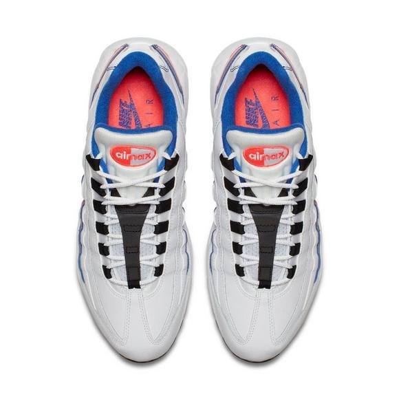 Lifestyle – Nike Air Max 90 Essential Mens WhiteSolar RedBlackUltramarine
