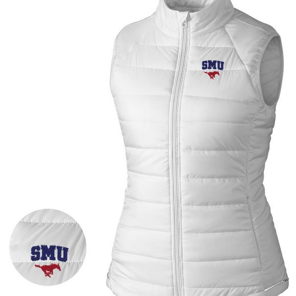 95dc29e79 Cutter & Buck Women's SMU Mustangs Post Alley Vest - Main Container ...