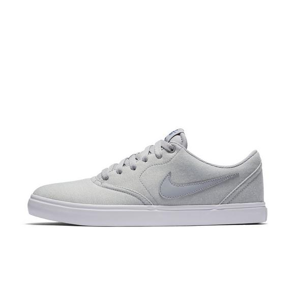 reputable site d5f49 54a20 Nike SB Check Solarsoft Canvas Premium Mens Skate Shoe - Main Container  Image 2