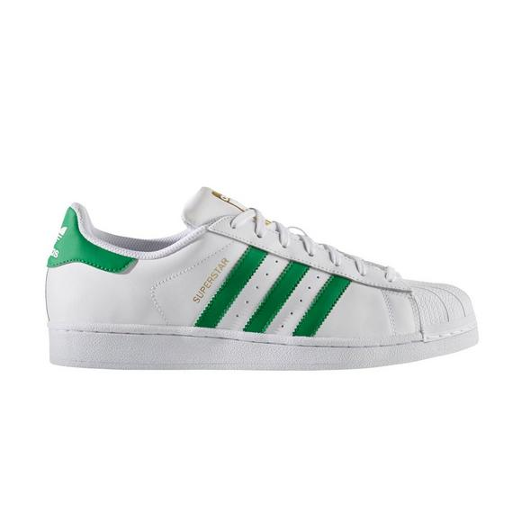 Clearance Adidas Superstar WhiteGreen Lifestyle Shoes
