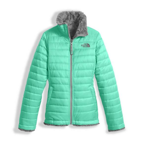 1fc0e8fab The North Face Girls' Reversible Mossbud Swirl Insulated Jacket - Main  Container Image 1