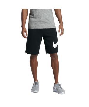 Nike Men's Club Fleece Shorts-Black