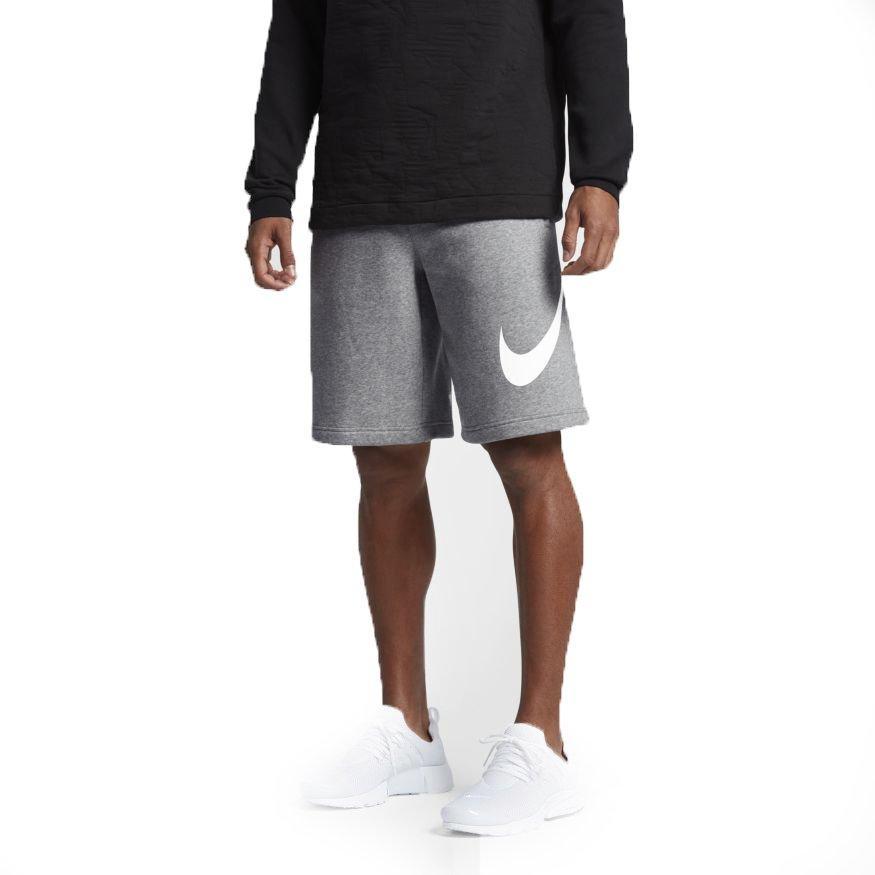 Nike Men\u0027s Club Fleece Shorts-Grey