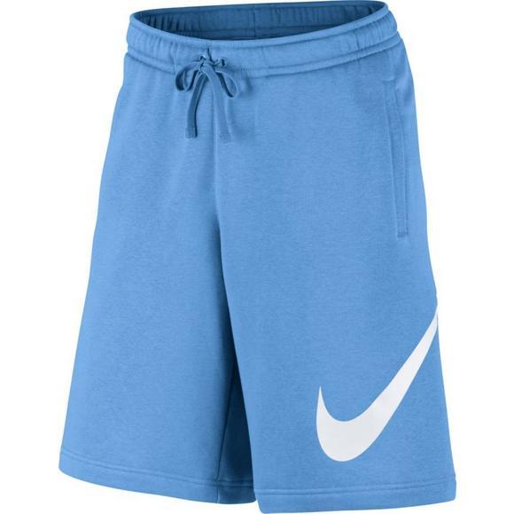 Nike Men s Club Fleece Shorts-Blue - Main Container Image 1 2e6be5d40c74