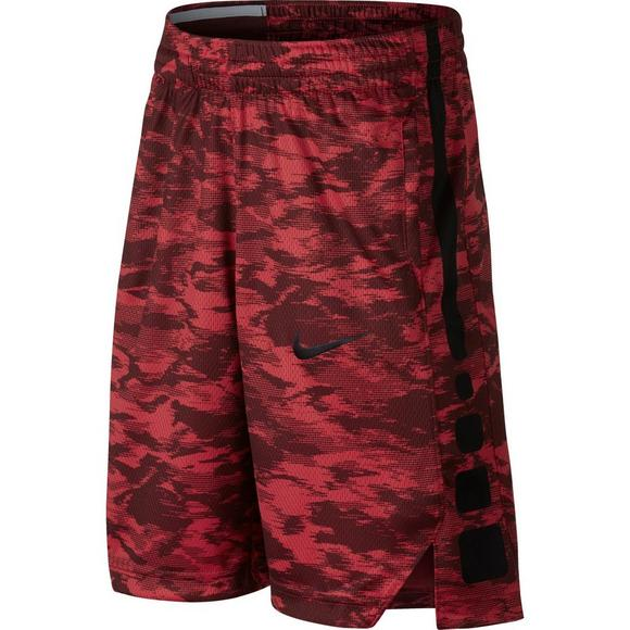 6f8c3aab4028 Nike Boys  Dry Elite Basketball Shorts-Red - Main Container Image 1