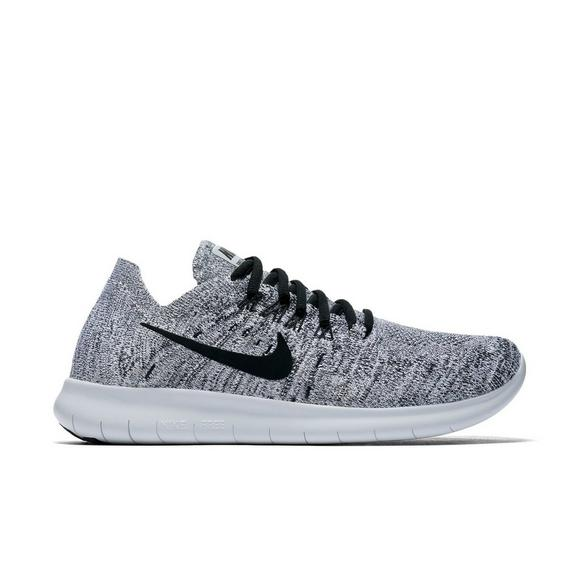 Nike Men's Free RN Flyknit 4.0 Running Shoes GreyBlack