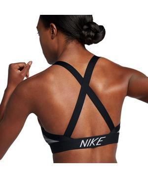 Nike Women S Pro Indy Logo Back Sports Bra Hibbett City Gear