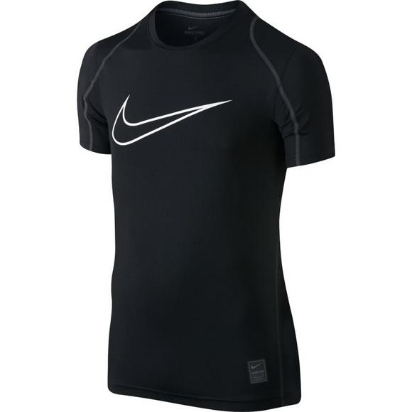 390a97e582df Nike Boys  Pro Training Top- Black - Main Container Image 1