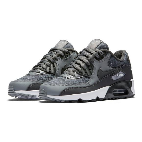 12157eebec67 Nike Air Max 90 SE Leather Grade School Boys  Casual Shoe - Main Container  Image
