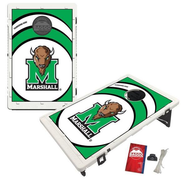 Fantastic Victory Tailgate Marshall Thundering Herd Baggo Bean Bag Toss Cornhole Game Vortex Design Lamtechconsult Wood Chair Design Ideas Lamtechconsultcom